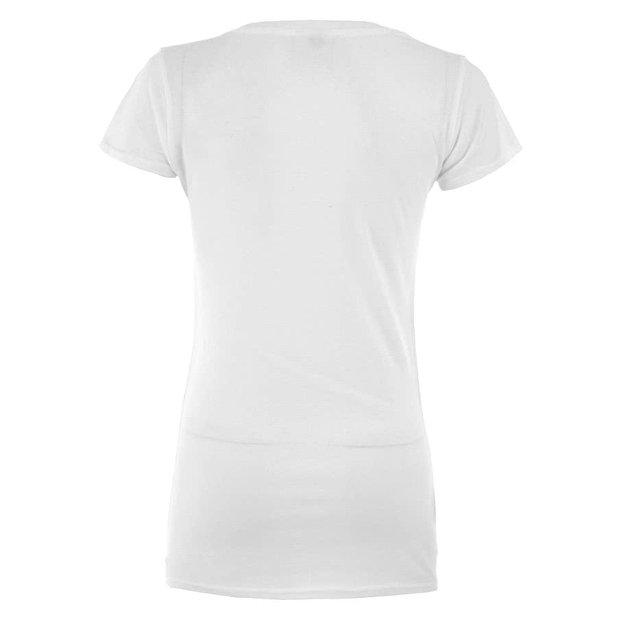 Kill Star Inverted Cross Skinny Fit T Shirt (White)
