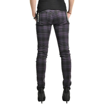 Jawbreaker Purple Plaid Jeans