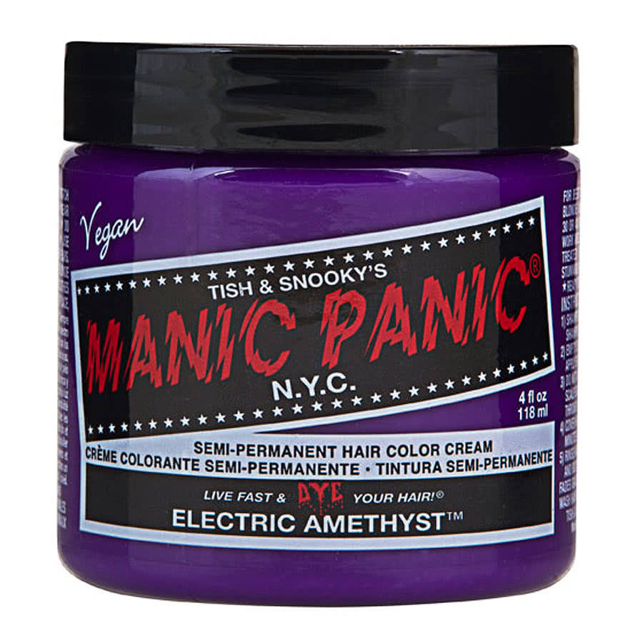 Manic Panic Classic Semi-Permanent Hair Dye 118ml (Electric Amethyst)
