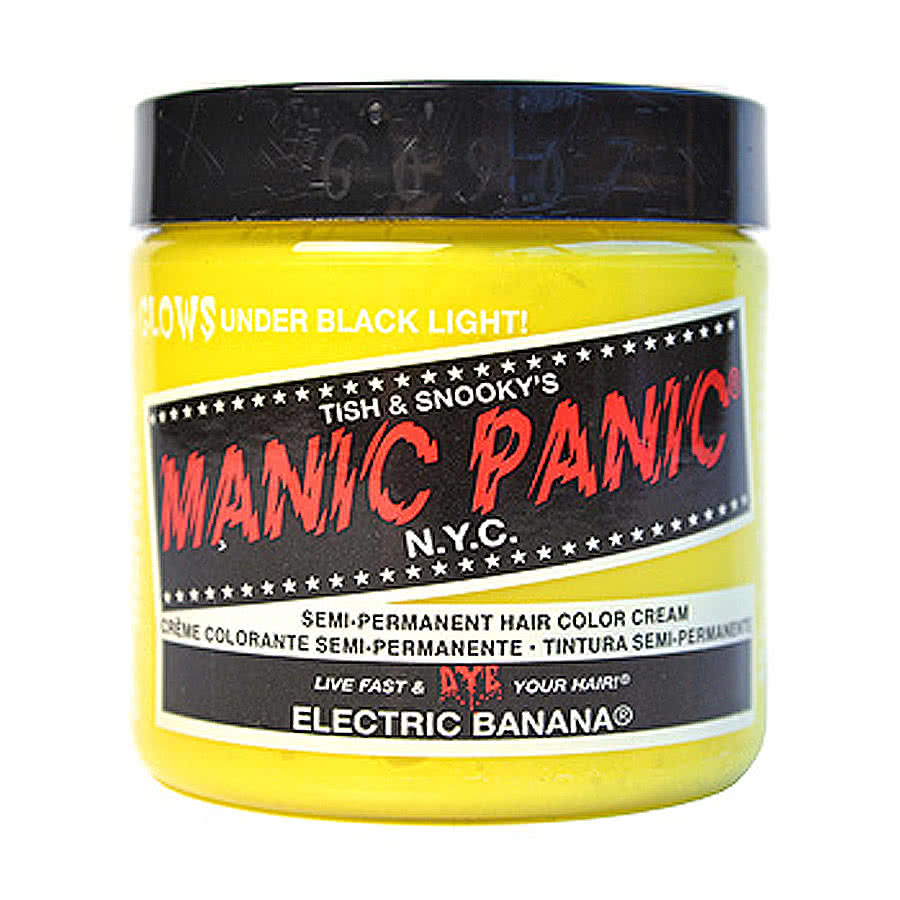 Manic Panic Classic Semi-Permanent Hair Dye 118ml (Electric Banana)