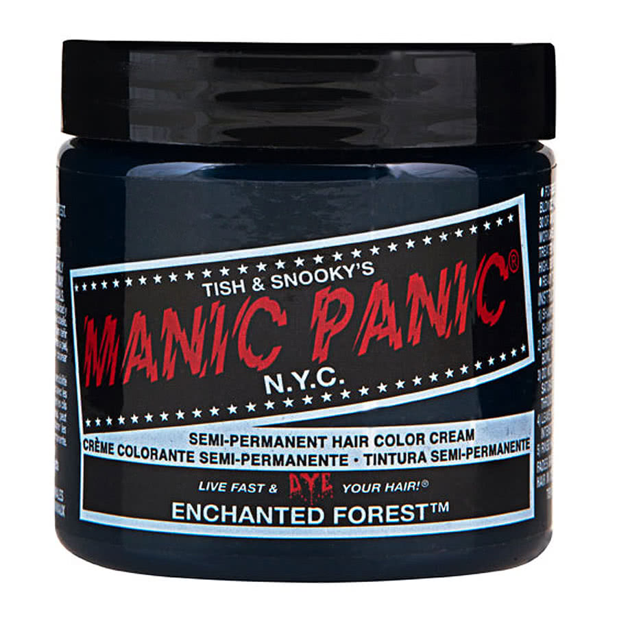 Manic Panic Hair Dyes Classic Forest Green Semi Permanent Cream Bold ...