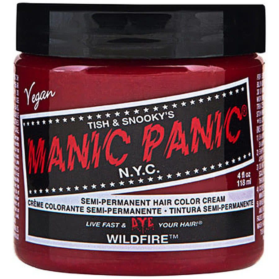 Manic Panic Classic Semi-Permanent Hair Dye (Wildfire Red)