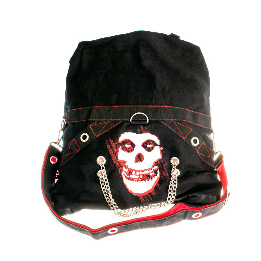 Misfits Grim Reaper Messenger Bag (Black)