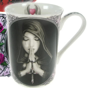 Nemesis Now Gothic Prayer Mug