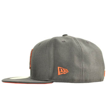 New Era D-Front NY Hat (Graphite)