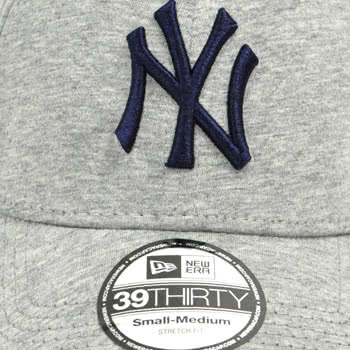 New Era Basic NY Yankees Cap (Grey)