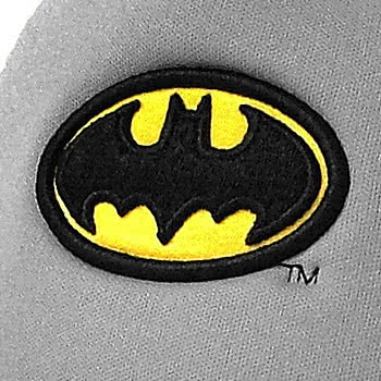 DC Comics New Era Batman Primary Patterned Trucker Cap (Grey/Blue)