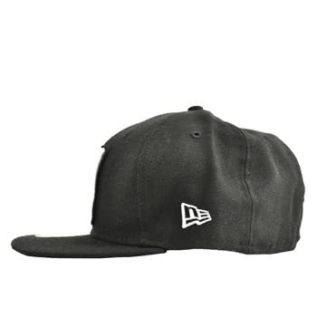 New Era NY Four Corners Cap (Black)