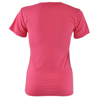 Newbreed Girl Chill Pill Skinny Fit T Shirt (Pink)