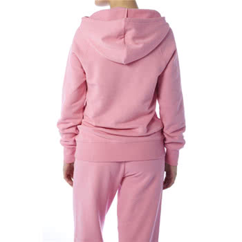 Pineapple Retro Skinny Fit Hoodie (Pink)