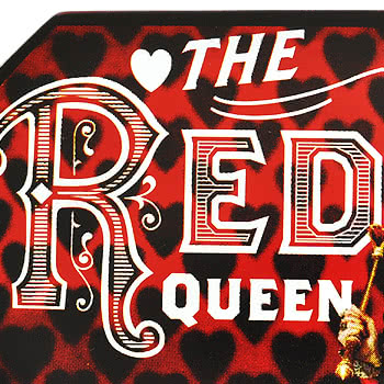 Alice In Wonderland The Red Queen Belt Buckle (Red)