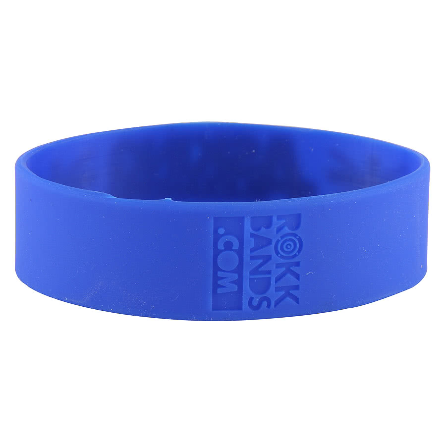 Rokk Bands Asking Alexandria Blokes Wristband (Blue)