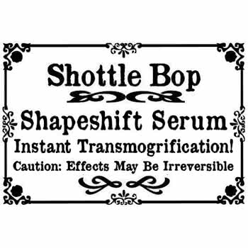 Shottle Bop Shape Shifter Serum Bottle Necklace (Orange)