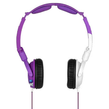 Skullcandy Decibel Collection Lowrider Headphones (Purple/White)