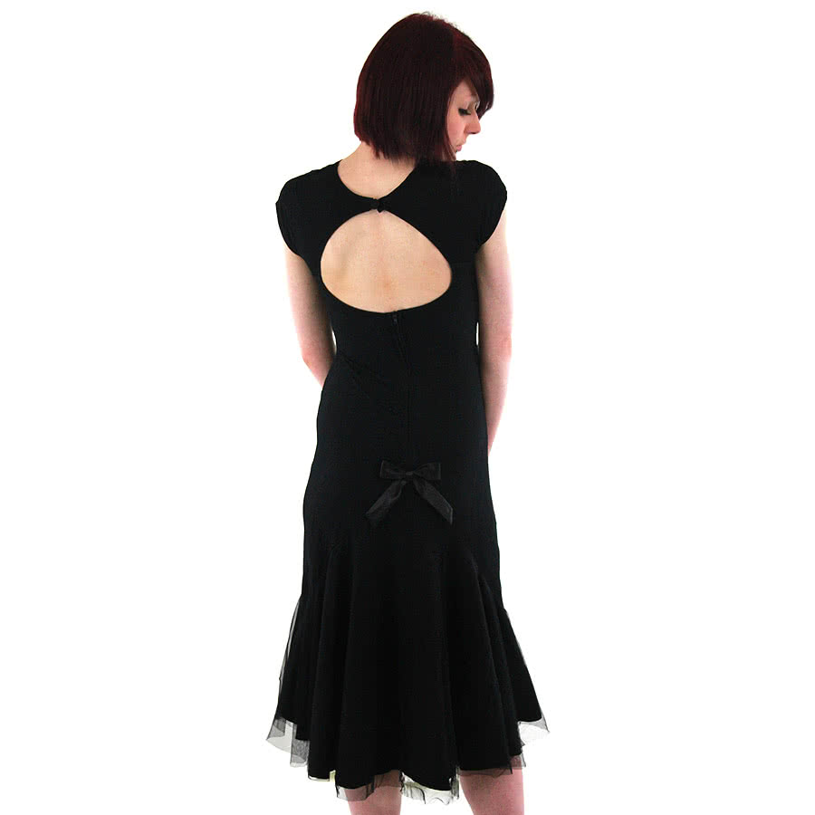 Spin Doctor By Hell Bunny Ariana Dress (Black)