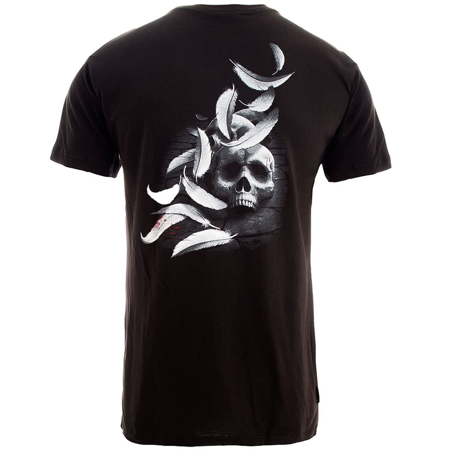 Spiral Direct Broken Angel T Shirt (Black)