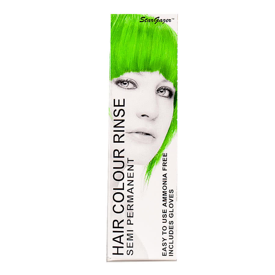 Stargazer Semi-Permanent UV Hair Dye 70ml (African Green)