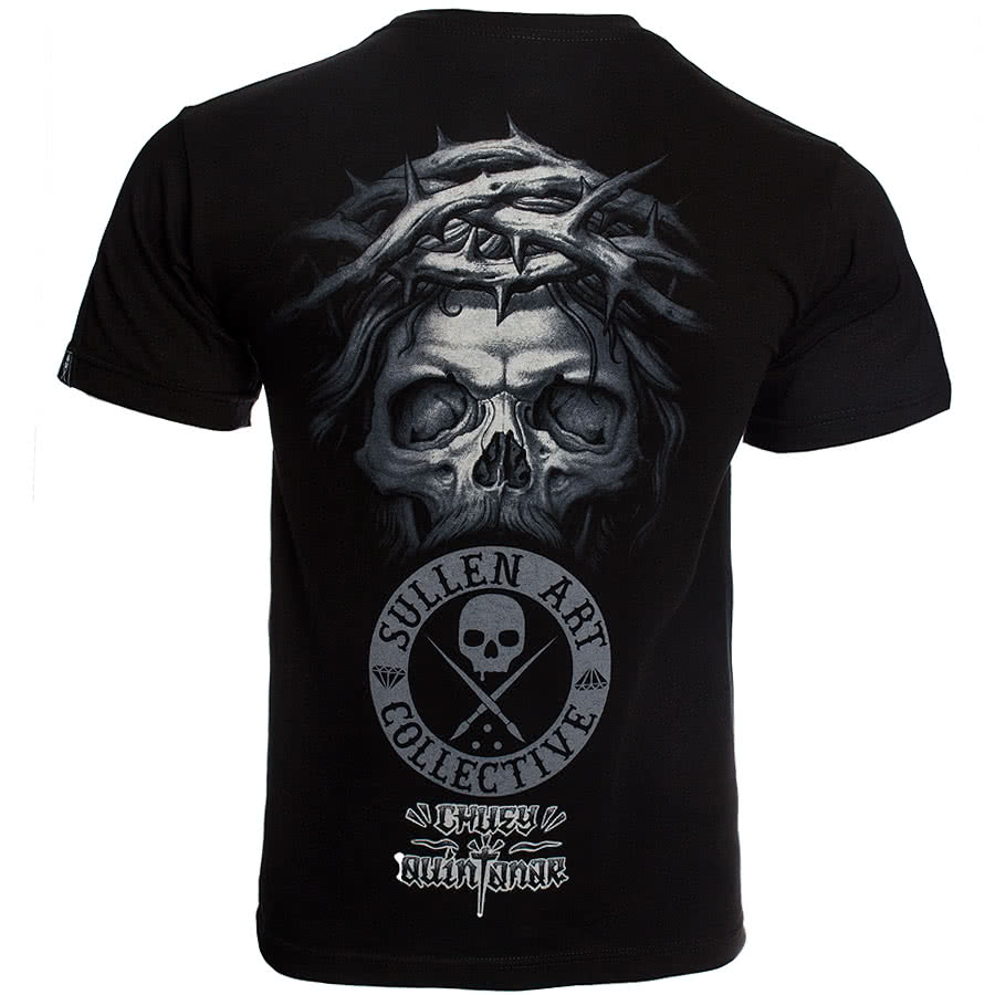 Sullen Crown of Thorns T Shirt (Black)