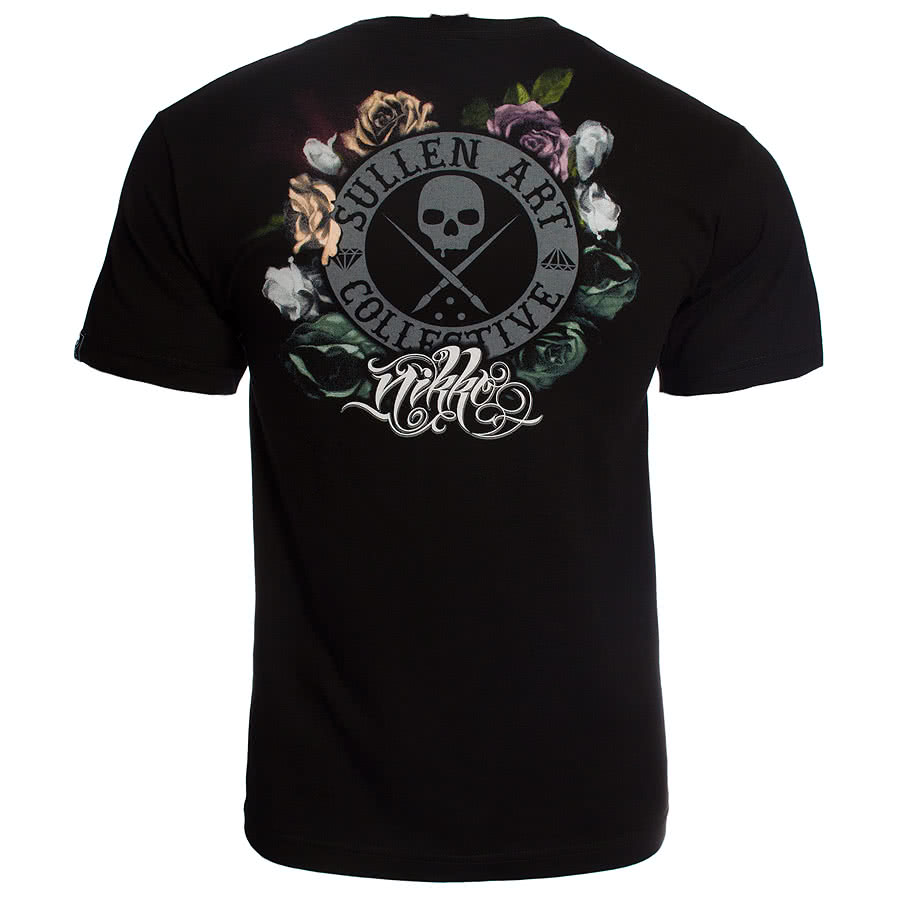 Sullen Nikko Lace T Shirt (Black)