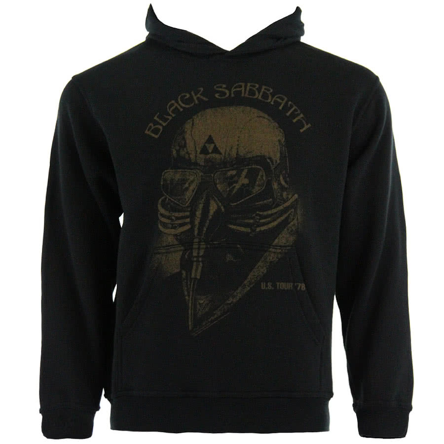 Black Sabbath US Tour 78 Hoodie (Black)