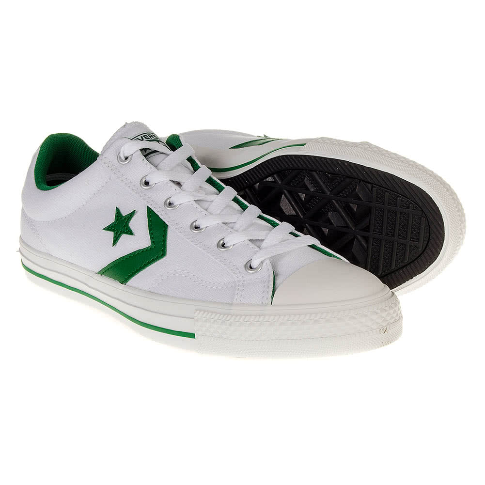 Converse Cons Star Player Shoes (WhiteGreen)