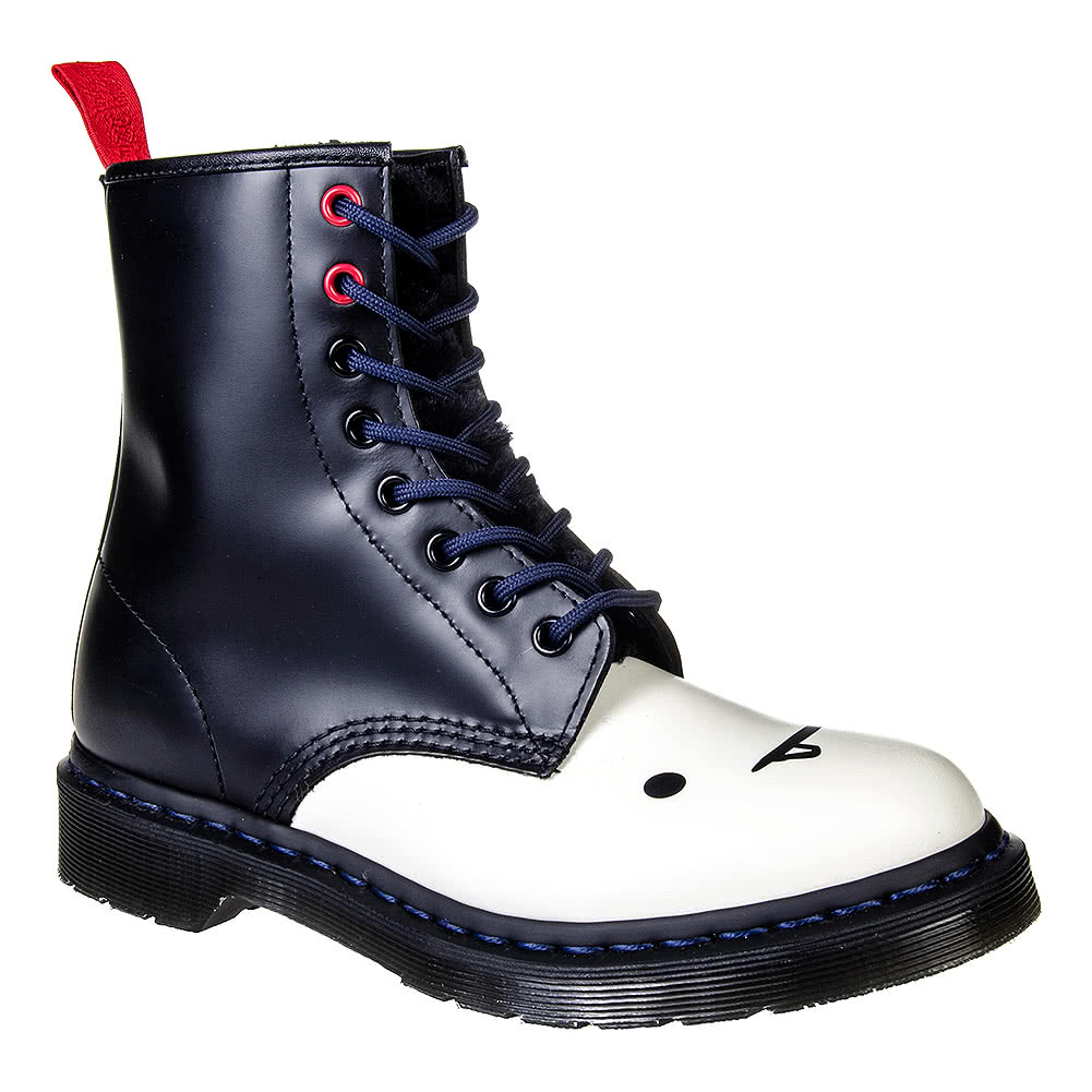 Dr Martens 1460 Adventure Time Marceline Boots (BlackWhite)