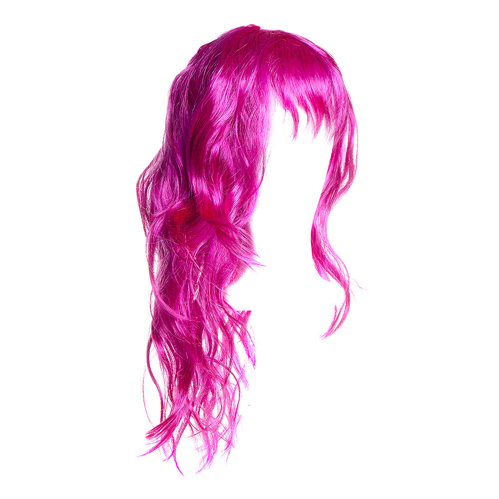Pink Purple And Blue Wig 45