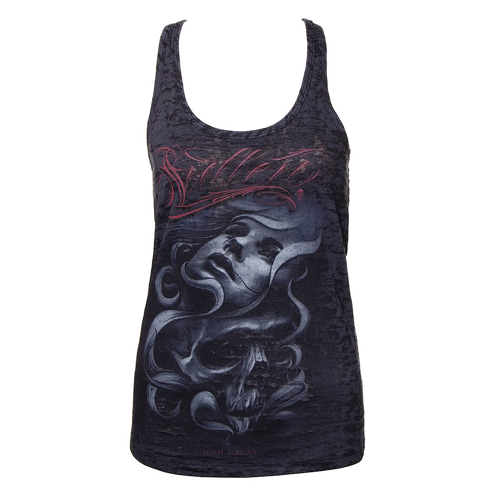 Sullen Angels Josh Hagan Burnout Vest (Black)