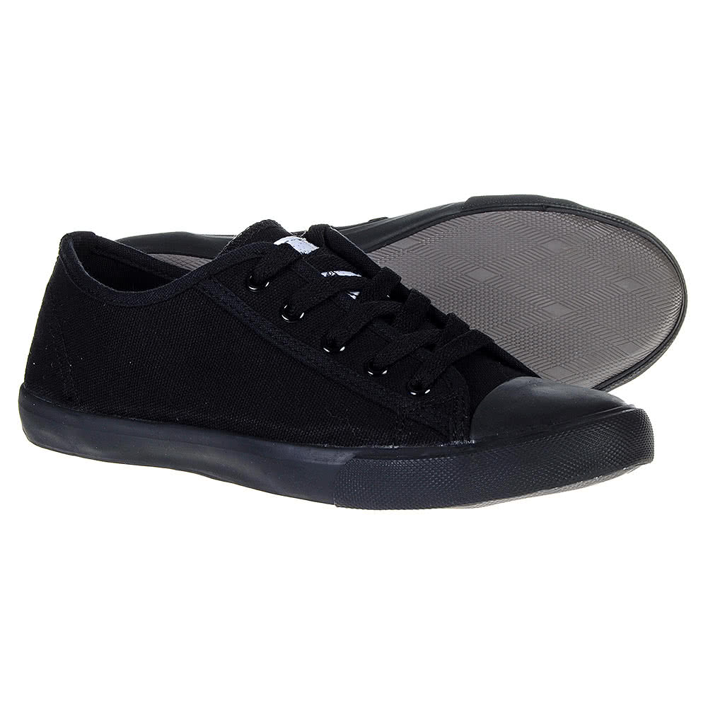 bleeding black grace canvas shoe alternative