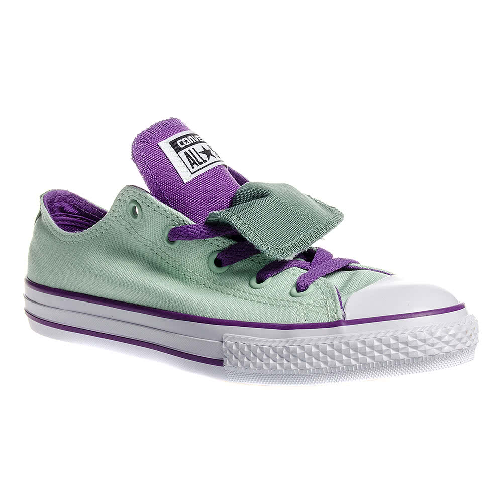 Converse All Star Kids Double Tongue Shoes (Mint Julep)