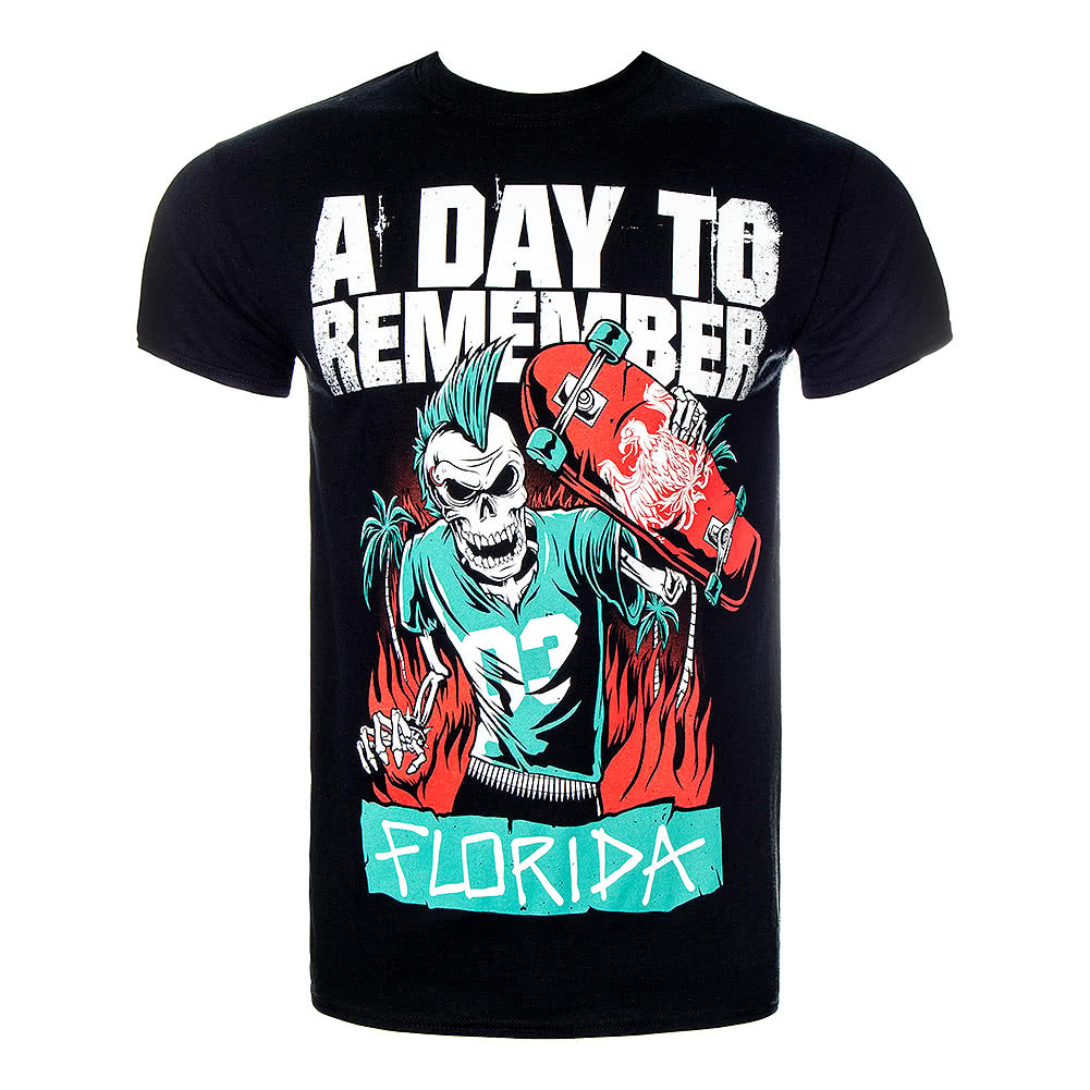 A Day To Remember Skater T Shirt (Black)