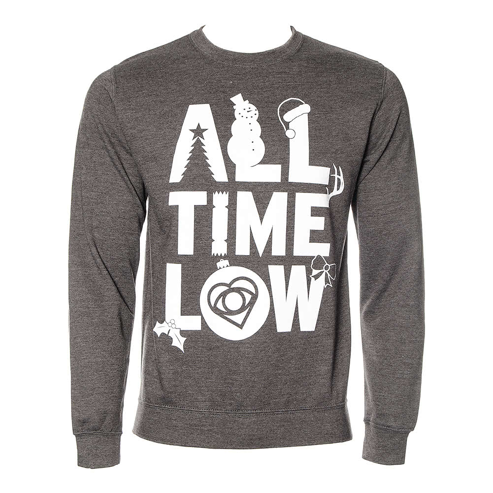 All Time Low Official Christmas Jumper (Grey)