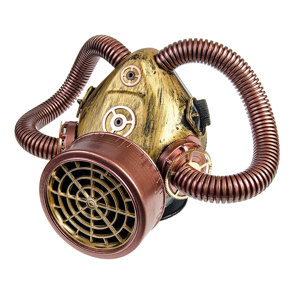 Solstice Corrugated Tubes Respirator (CopperBrass)
