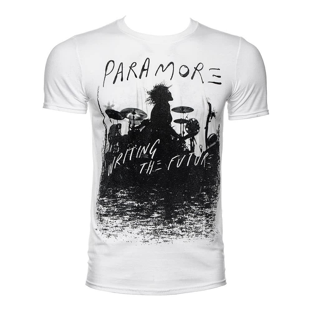 Paramore Unisex Future Silhouette White T Shirt, Official ... Paramore Merch