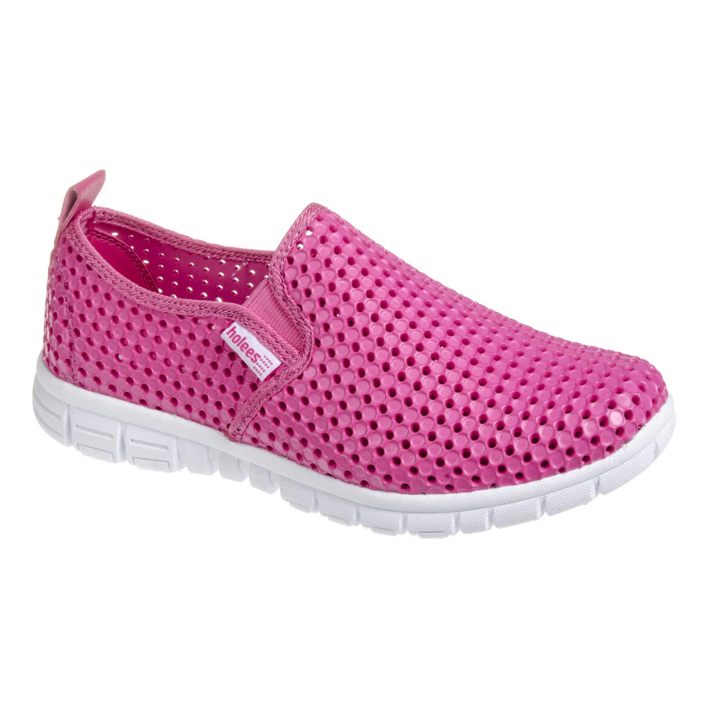 holees original slip on pink shoes holees shoes uk