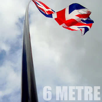 Blue Banana 6 Metre Telescopic Flagpole