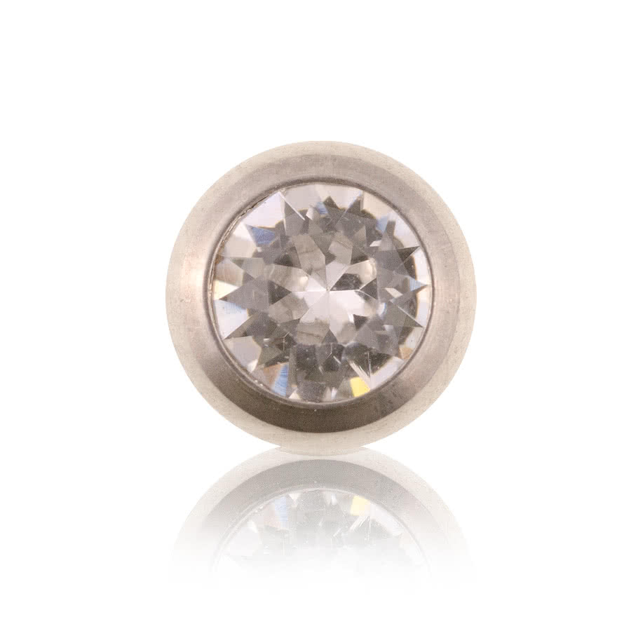 Polished 5mm Jewelled Ball (Crystal)