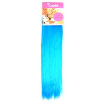 Stranded 18inch Clip-In Hair Strip (Blue)