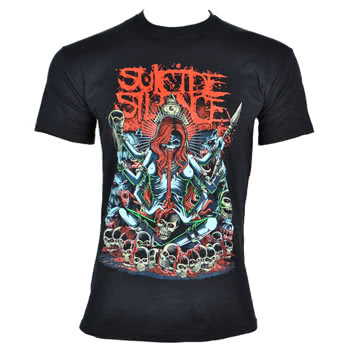 Suicide Silence Tribal T Shirt