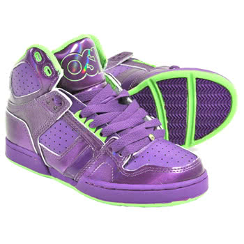 Shoes|Men's Shoes Osiris NYC83 Grape And Lime Boots