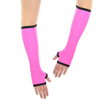 Insanity Neon Pink Gloves