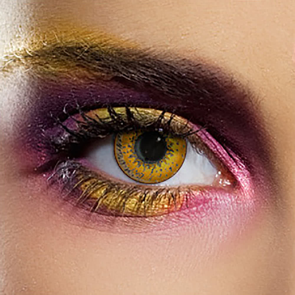 EDIT 90 Day Coloured Contact Lenses (Tri Tone Hazel)