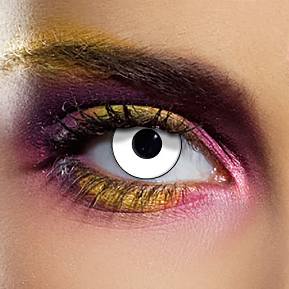EDIT 90 Day Manson Coloured Contact Lenses (White)