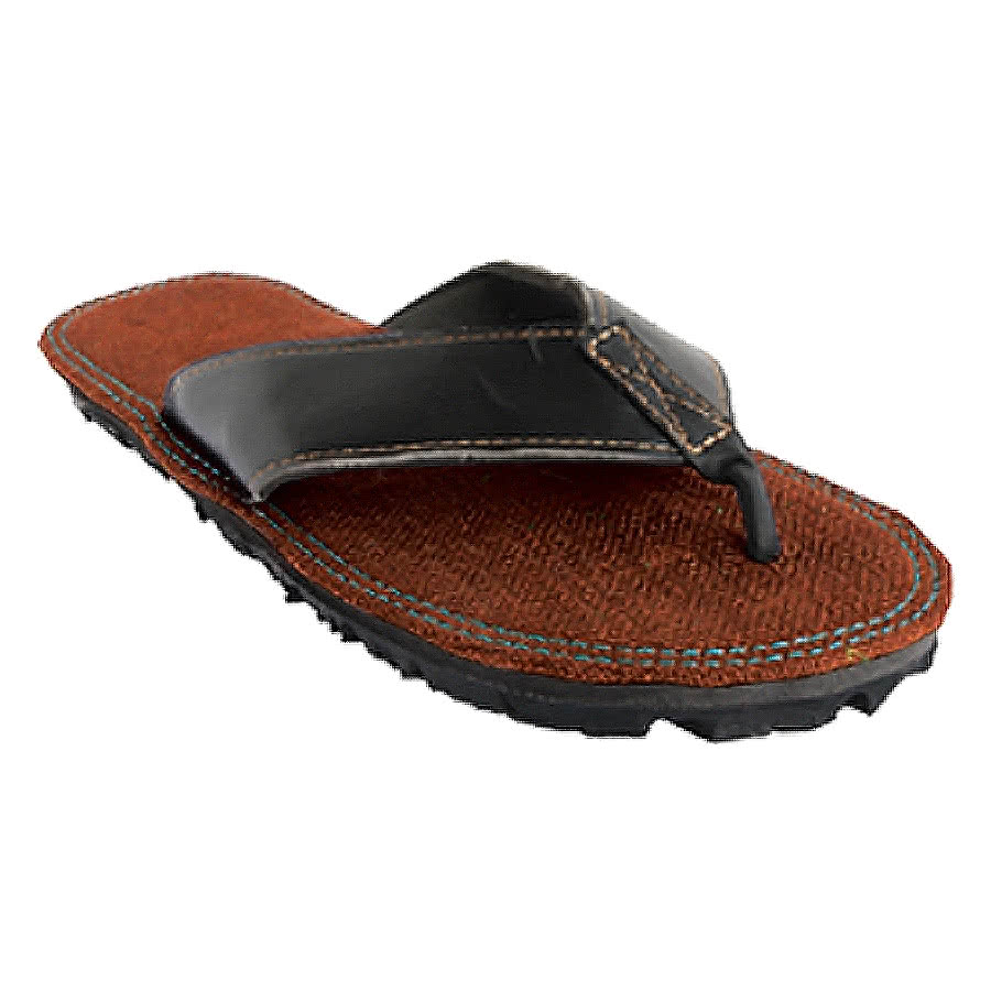 Maasai Treads Mens Flip Flops (Brown)