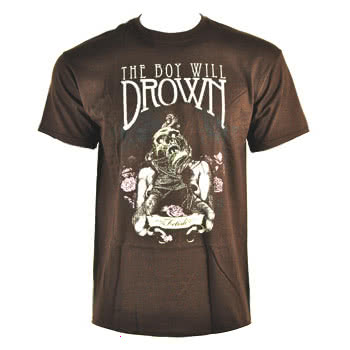 The Boy Will Drown Fetish T Shirt (Brown)