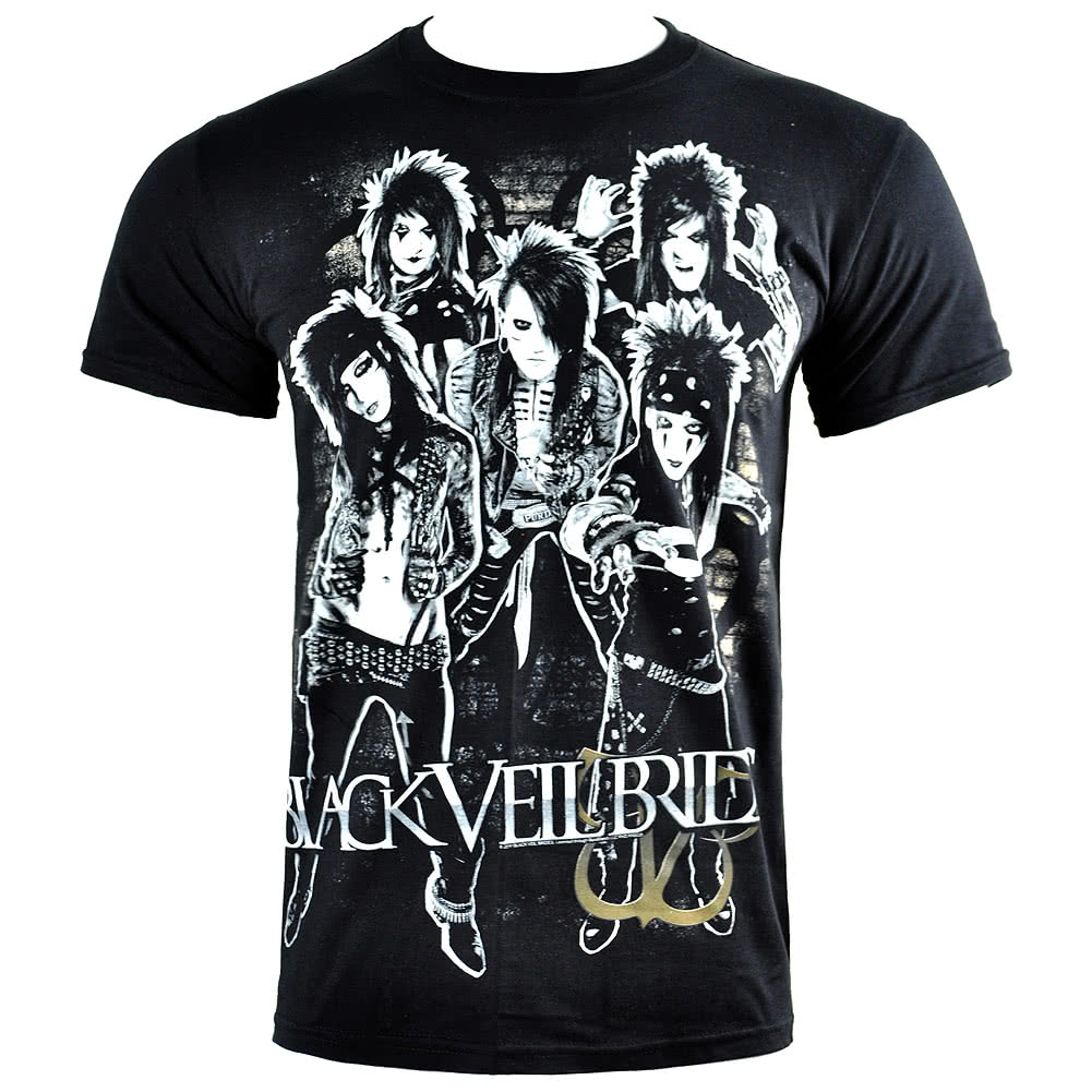 Black Veil Brides Shred T Shirt (Black)