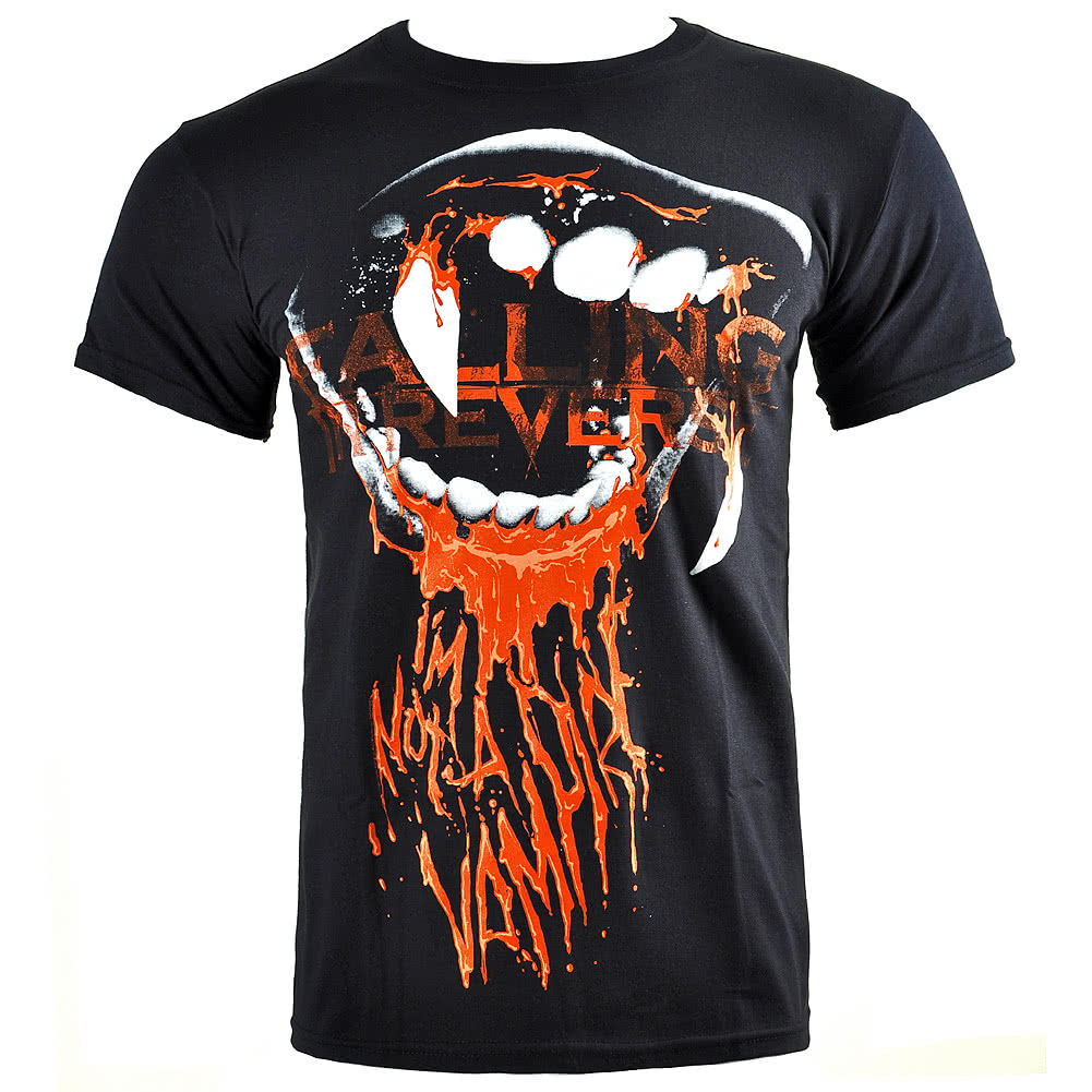 Falling In Reverse Vampire T Shirt (Black)