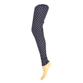 Insanity Polka Dot Leggings (Black/White)