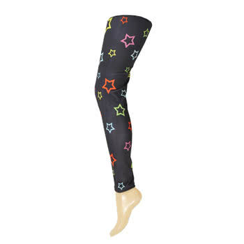 Insanity Stars Leggings (Multi-Coloured)