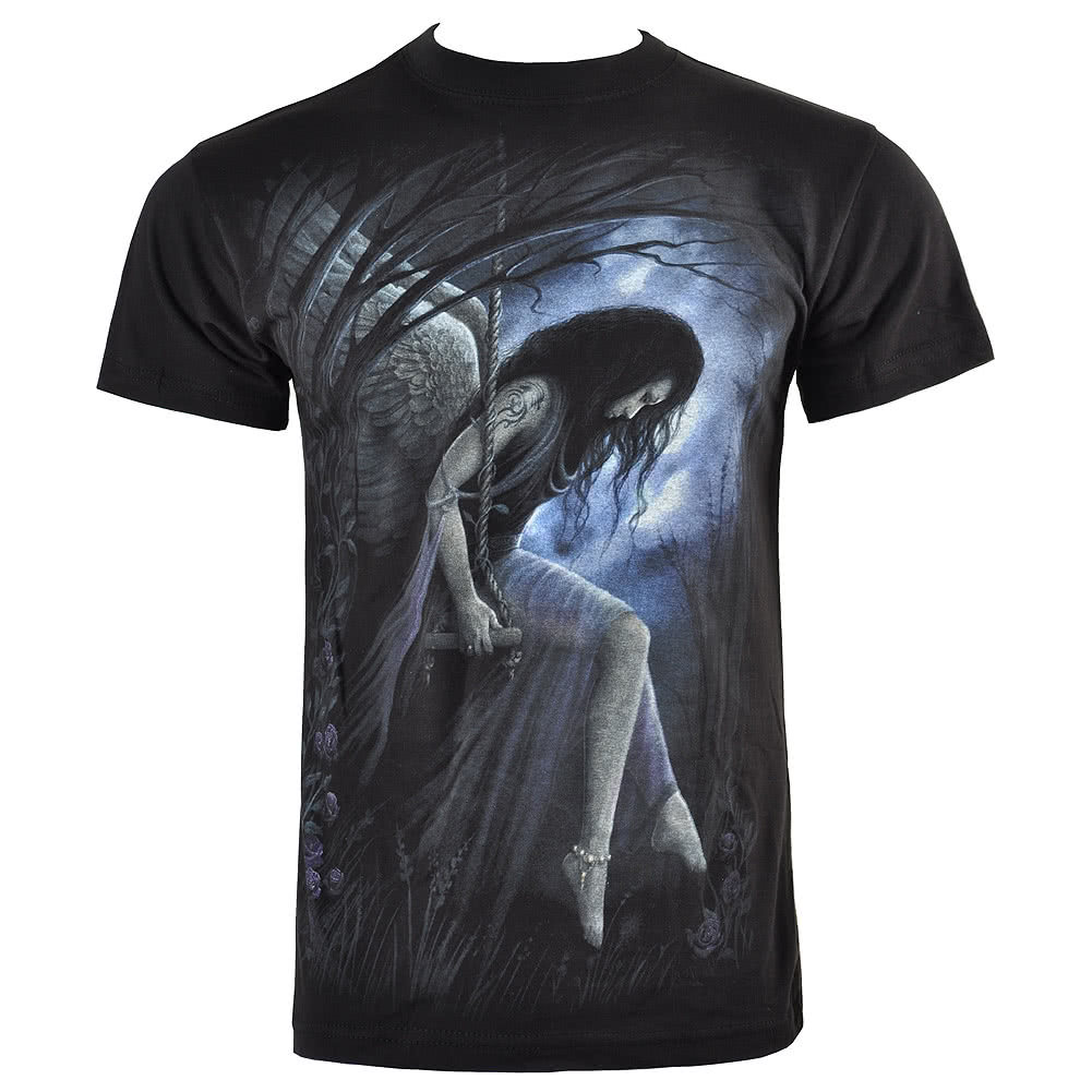 Spiral Direct Angel Lament T Shirt (Black)